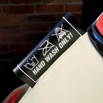 FIAT500 Laundry label